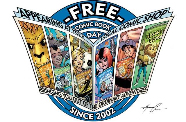 Le Free comic book day 2016: des comics gratuits le samedi 7 mai!