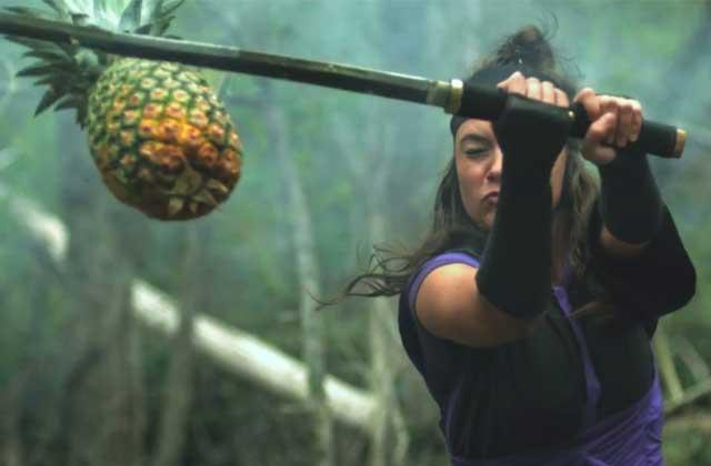 «Fruit Ninja » dans la vraie vie, la grosse marrade en vidéo