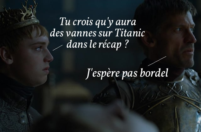Game of Thrones S06E02 — Le récap (rigolo) !