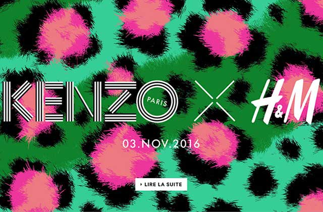 H&M invite Kenzo pour sa collection créateur de 2016!