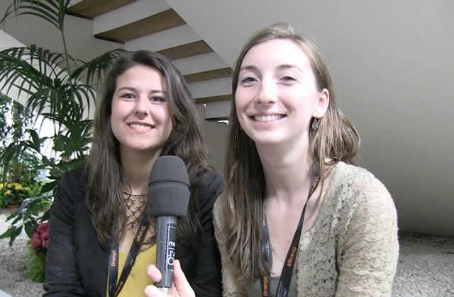 Interview de Sarah et Estelle, stagiaires au Festival de Cannes