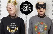 Locher's, la marque mignonne et grossière, offre 20% de réduction aux madmoiZelles!