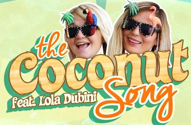 Lola Dubini et Léa Camilleri présentent leur mash-up estival, «The Coconut Song»