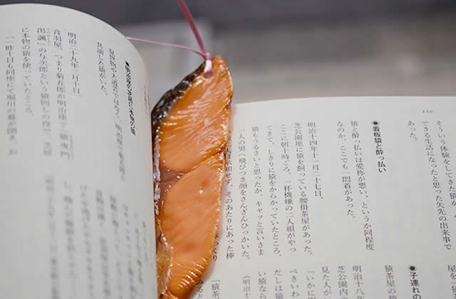 Les marque-pages façon nourriture réaliste, l'accessoire mi-cool mi-dégueu