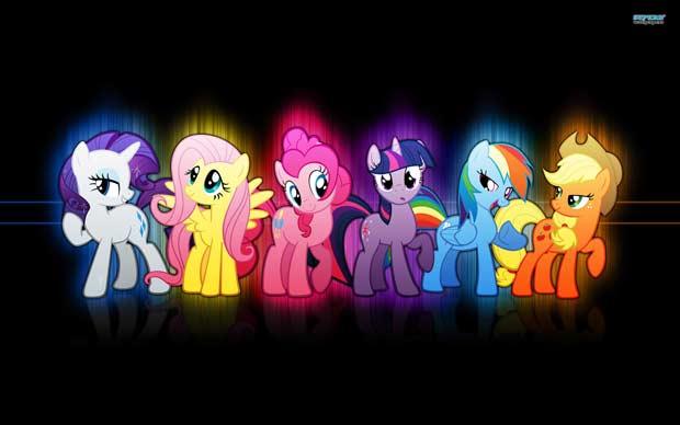mon petit poney groupe