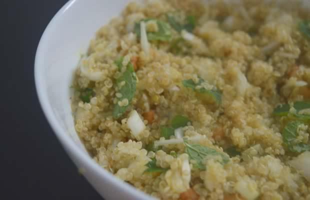 recette salade de quinoa menthe