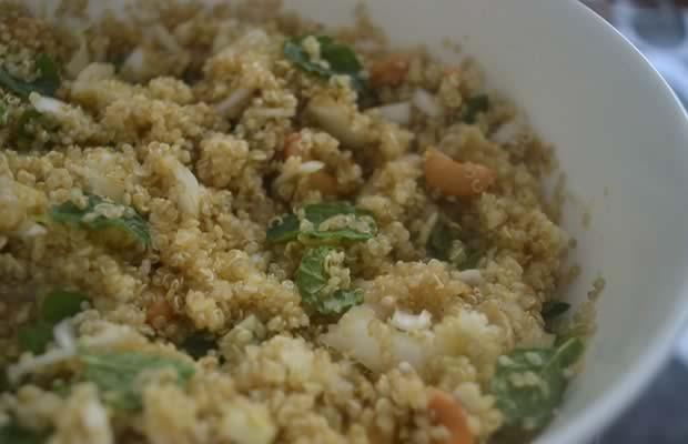 recette salade de quinoa noix de cajou