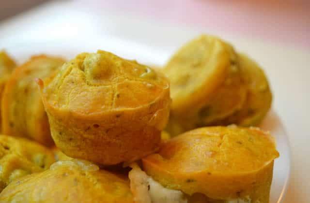 Muffins au morbier et aux olives—Recette qui se mouche pas du coude en matière de goût