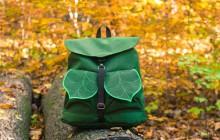 Les sacs à dos en forme de feuilles, un petit bout de nature sur les épaules