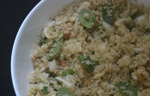 recette salade de quinoa fraiche