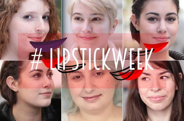 Sélection de rouges à lèvres nude #LipstickWeek