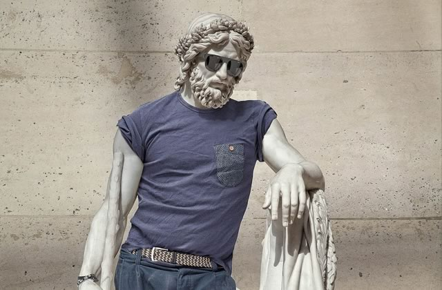 Les statues «hipsterisées » s'exposent à Paris!