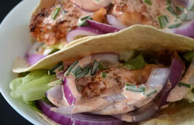 tacos poulet recette