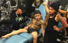 Tatouer des enfants, le pari émouvant d'un artiste néo-zélandais