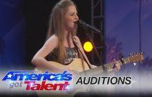 Kadie Lynn, 12 ans et une voix à faire fondre le cœur de Simon Cowell