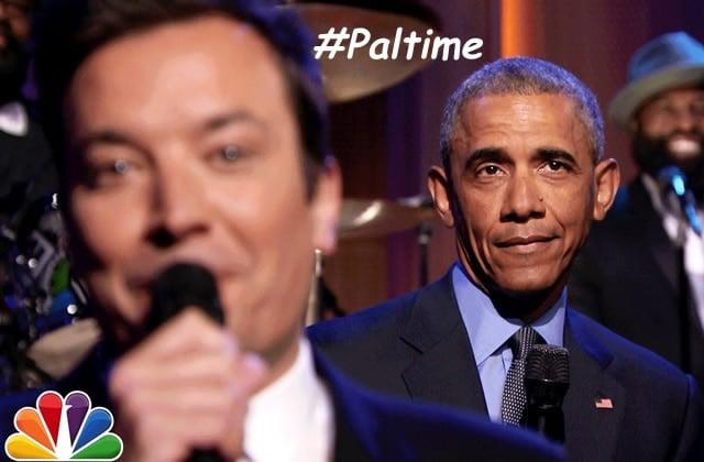 Barack Obama «Slow Jams the News» chez Jimmy Fallon