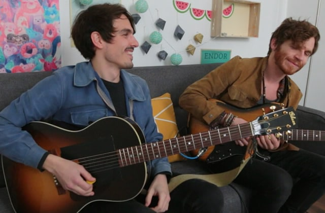 Bel Plaine joue «Lifeboat» à la rédac en acoustique!
