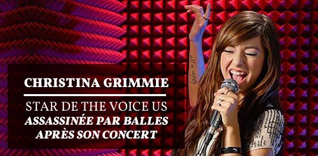 On en sait plus sur le meurtre de Christina Grimmie (The Voice), et c'est terrifiant