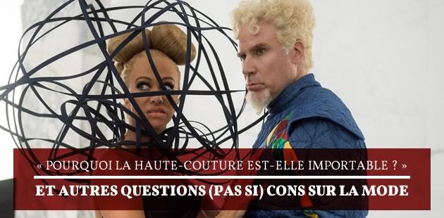 Pourquoi la Haute Couture est-elle importable?