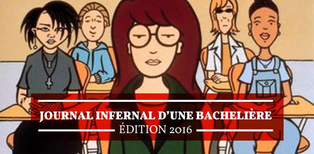 Journal infernal d'une bachelière, édition 2016