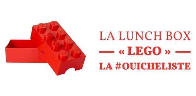 La lunch boxLEGO—La #OuicheListe