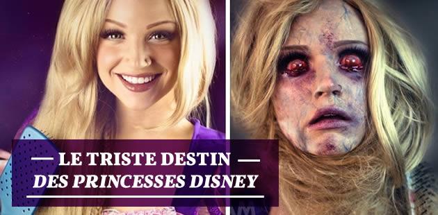 Une maquilleuse nous dévoile le triste destin des princesses Disney!