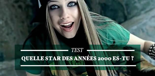 Test — Quelle star des années 2000 es-tu ?