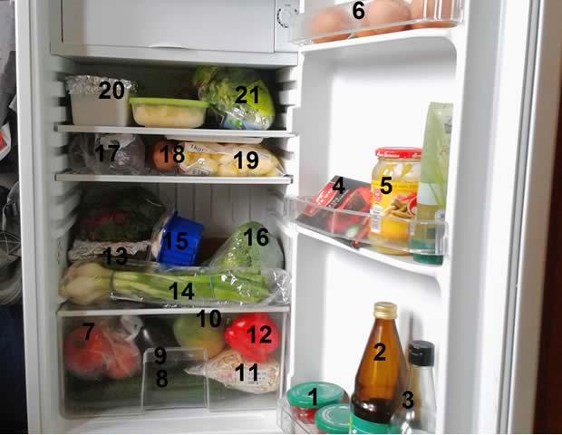 dans le frigo amina