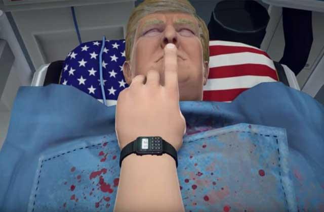 Opérez Donald Trump dans une extension de «Surgeon Simulator»!