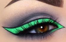 Porter l'eye-liner de cinq façons originales et décalées
