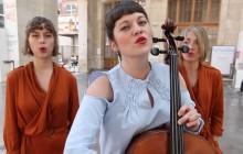 Gatha chante «Renaissance » en acoustique-violoncelle