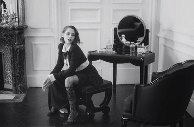 Kristen Stewart, égérie sensuelle de la nouvelle campagne Chanel