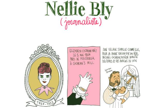 Nellie Bly, la première journaliste d'investigation — Les Culottées, par Pénélope Bagieu