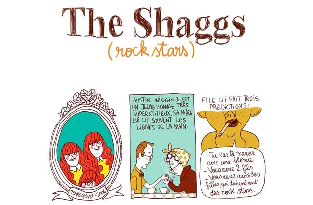 The Shaggs, rock stars malgré elles—Les Culottées, par Pénélope Bagieu