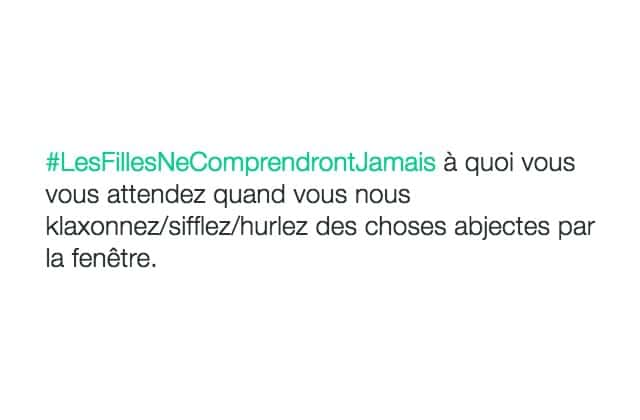 #LesFillesNeComprendrontJamais, un hashtag plus instructif qu'il n'y paraît