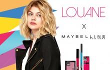 Louane est le nouveau visage de Maybelline