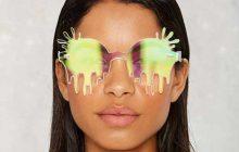 Les lunettes de soleil dégoulinantes bien WTFde NastyGal