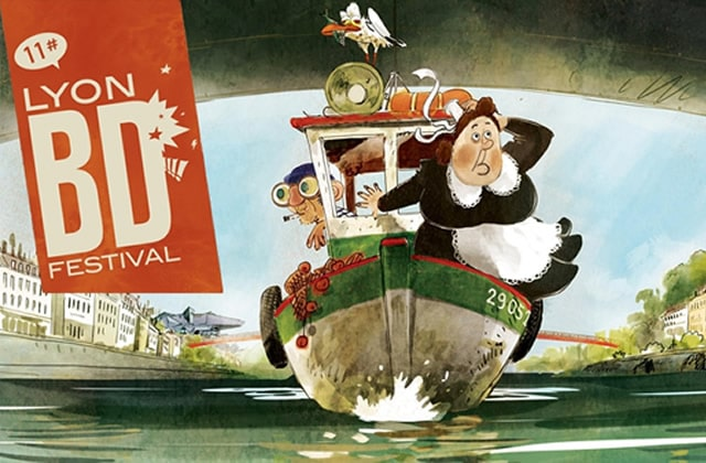 Le Lyon BD Festival 2016, c'est ce week-end!