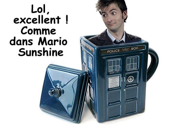 Le mug Tardis, pour prendre ton thé façon Doctor Who—La #OuicheListe