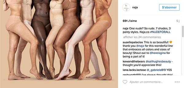 Los Angeles nouvelle collection chaussures décontractées Naja, une nouvelle marque de sous-vêtements « nude » pour ...