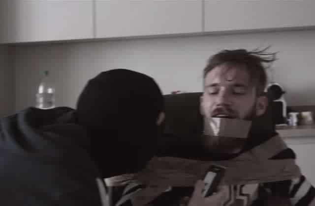 PewDiePie se fait kidnapper… puis raser la barbe