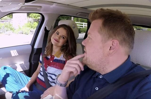 Selena Gomez, ma personne préférée sur le «Carpool Karaoké»