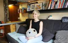 Dans l'appart' de Cy, illustratrice et graphiste à Paris