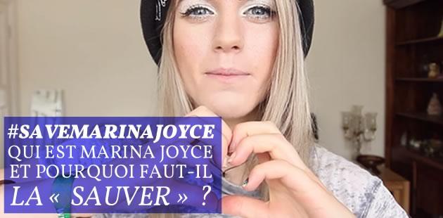 #SaveMarinaJoyce, le hashtag qui affole Internet… pour sauver une youtubeuse