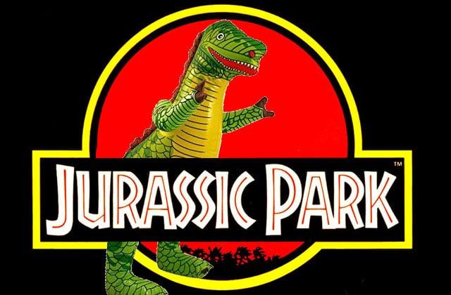 Le Tyrannosaurus Rex gonflable—La #OuicheListe