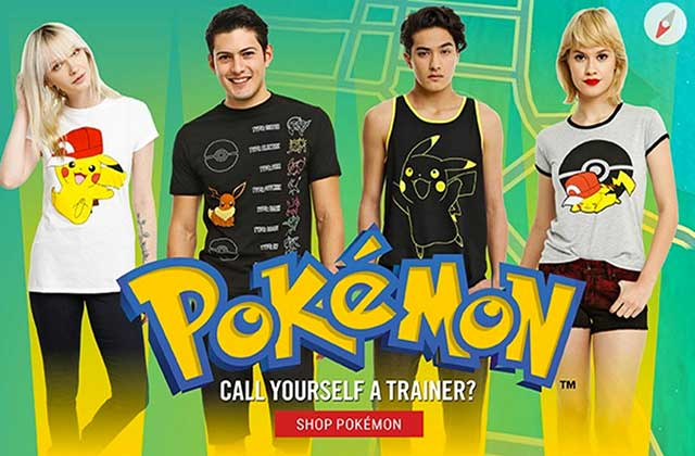 Hot Topic a sorti une collection Pokémon!