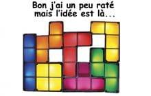 La lampe Tetris—La #OuicheListe