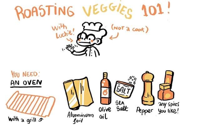 Luchie nous présente son livre de recettes en BD !