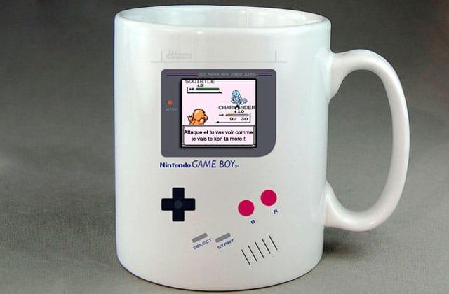 Le mug Gameboy Pokémon — La #OuicheListe