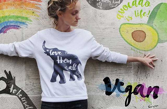 Paris by Vegan sort une collection de t-shirts imprimés !